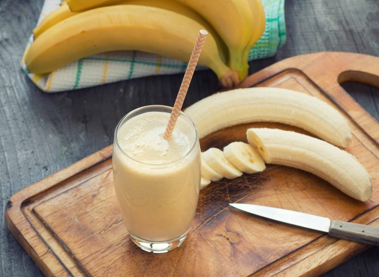 DeliciousbBanana smoothie