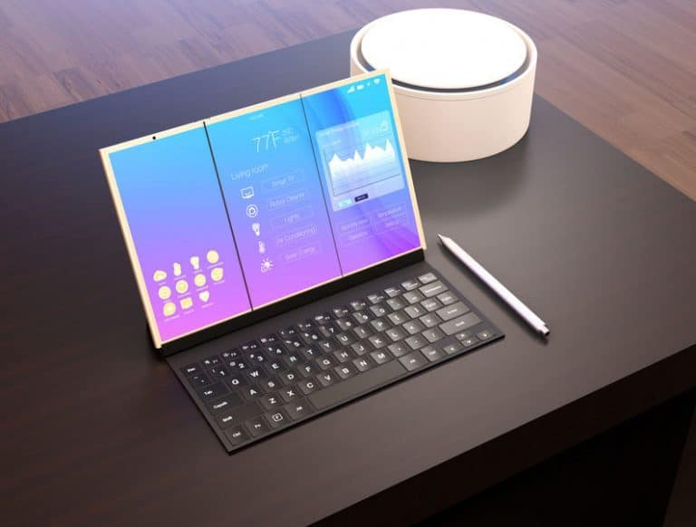tablet with a keyboard