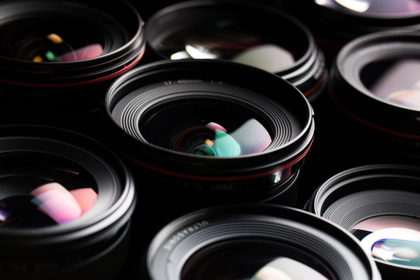 image of various lenses